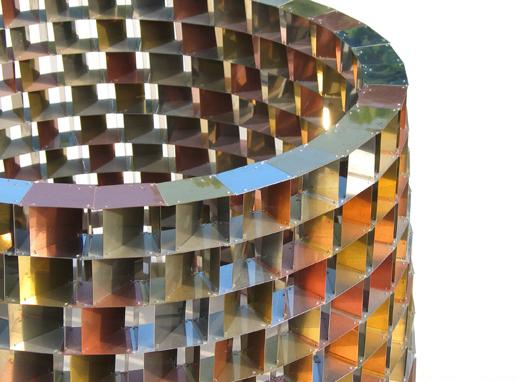 Detail staand object, diameter 79 x hoog 50 cm, Vera Galis