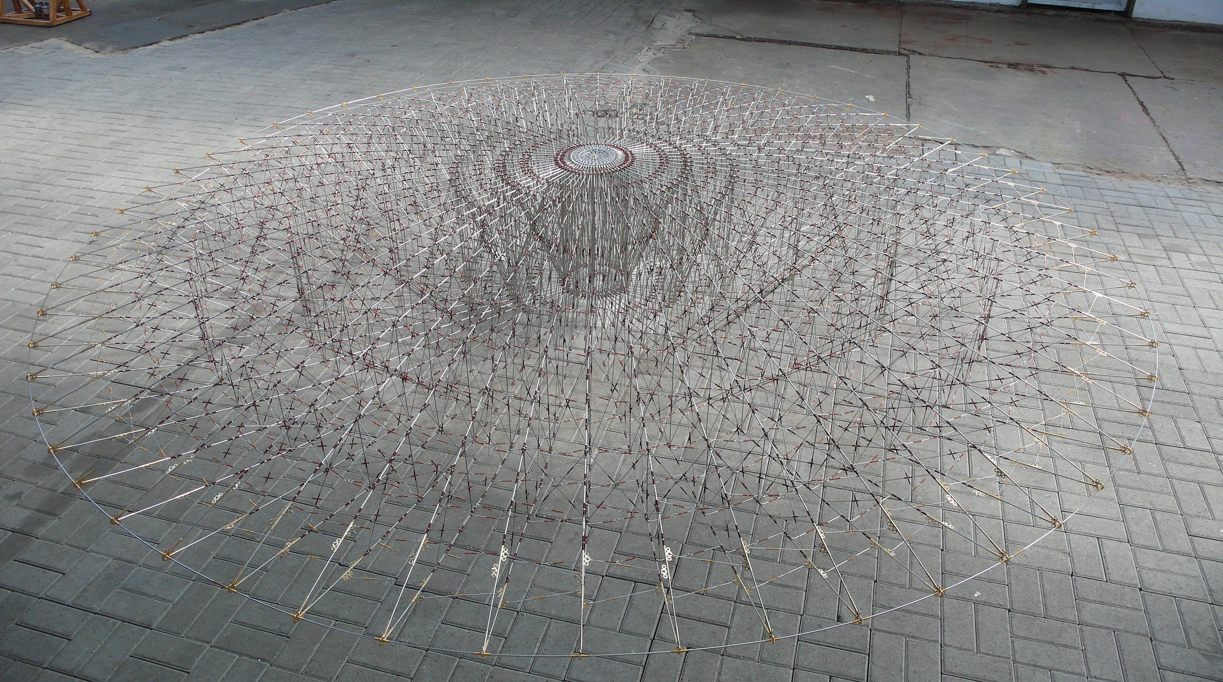 DordtYart, zwevend object, diameter 4.6 m, Vera Galis