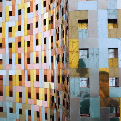 Detail object, 1.8 x 1.1 x 0.25 m, Kunsthal kunstbeurs, Vera Galis
