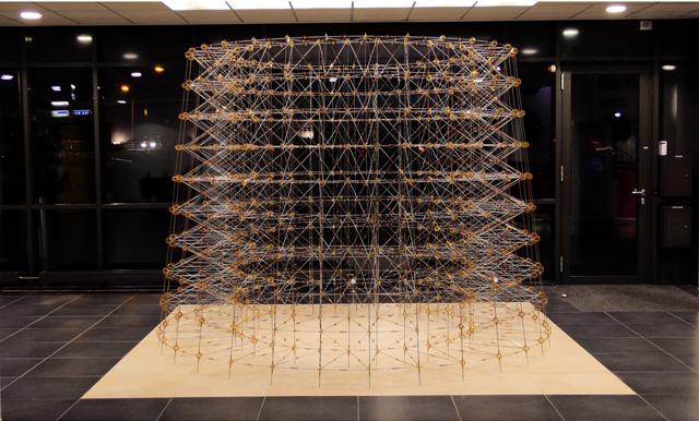 Staand object, diam. 3.2 x 2,4m, Stadhuis Gorinchem, Vera Galis